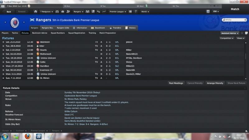 football - Football Management - Vanquiish Style Result12