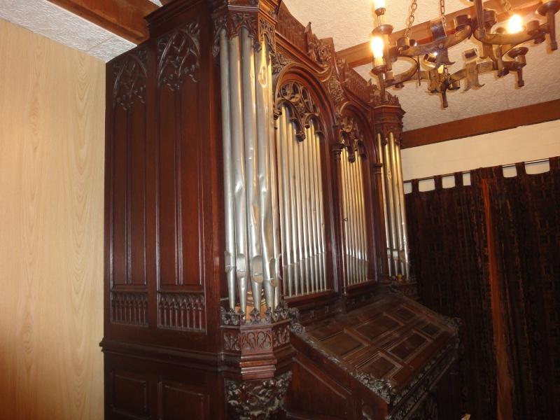 Instruments monumentaux avec façade de tuyaux Mustel15
