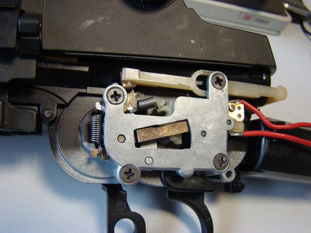Problema con selector de tiro en M14 669 JAE-100 Kart Cut Off Lever a fondo 110
