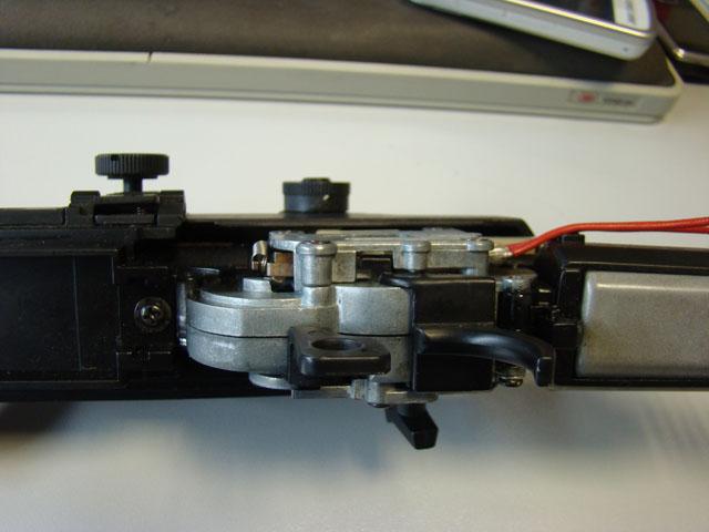 Problema con selector de tiro en M14 669 JAE-100 Kart Cut Off Lever a fondo 210