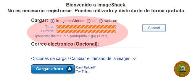 Como subir imagenes a Imageshack en el foro 411