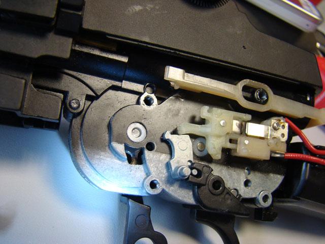 Problema con selector de tiro en M14 669 JAE-100 Kart Cut Off Lever a fondo 510