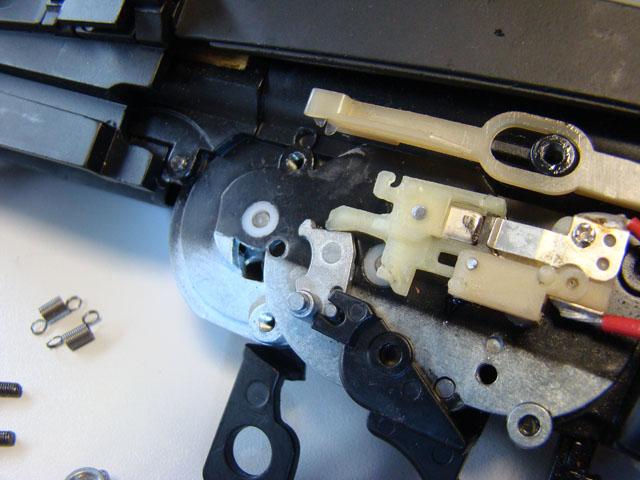 Problema con selector de tiro en M14 669 JAE-100 Kart Cut Off Lever a fondo 610