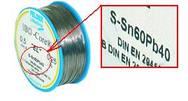 Clase práctica de soldadura de estaño, pasta para soldar o paste flux, trucos para fijar estaño en conectores Estaao11
