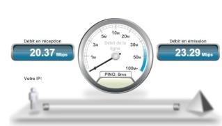 Bouygues Telecom héberge un serveur de SpeedTest Captur35