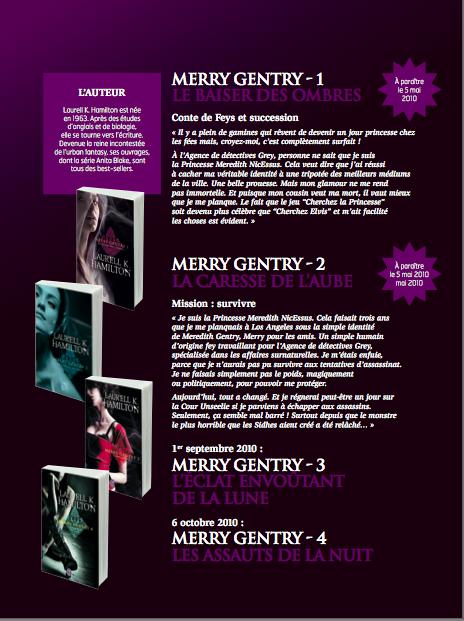 Réédition des Merry Gentry - J'ai lu - Page 5 Darkli10