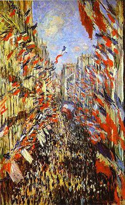 """""""Rue Montorgueil"""" de Monet – un commentaire critique 250px-10"""