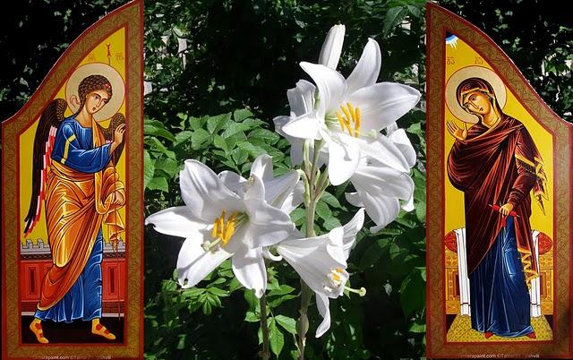 Neuvaine et fête de l'ANNONCIATION* le 25 mars Annonc10