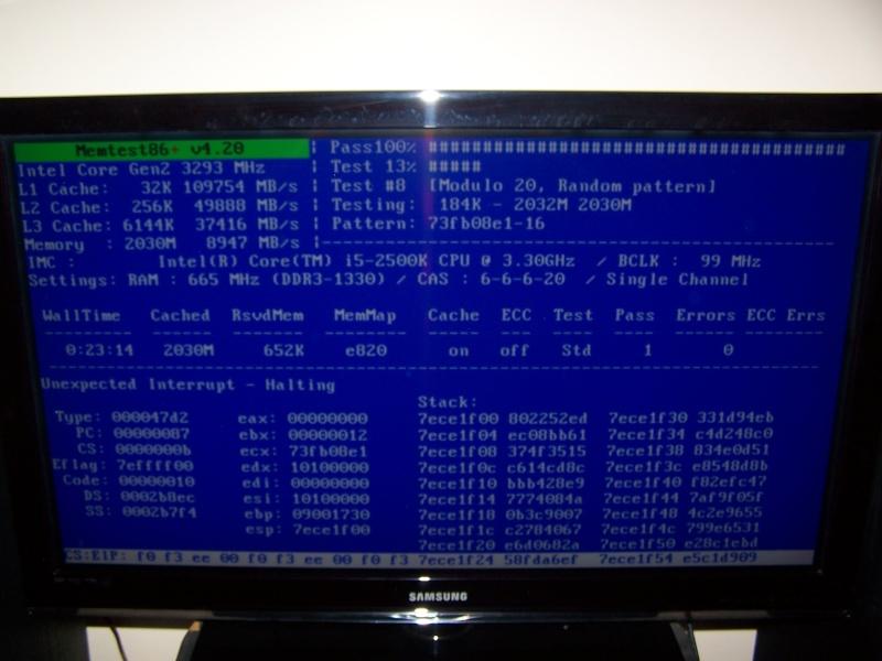 Problème d'installation (écran bleu) - Page 3 101_6038