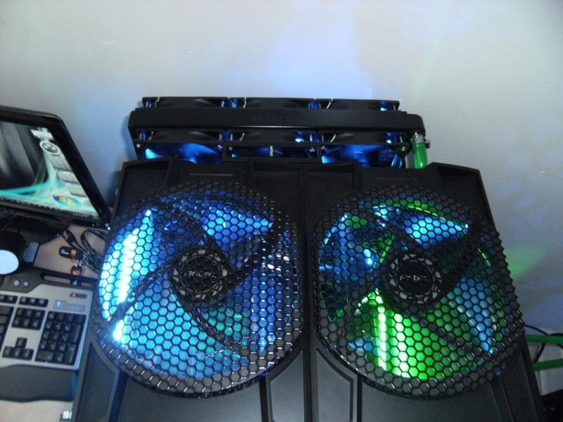 Asus Rampage III Extreme I7 990X-waterchiller 12GB Ram TRI SLI GTX 480 + GTX 470 PhysX-watercooling Dscf0012