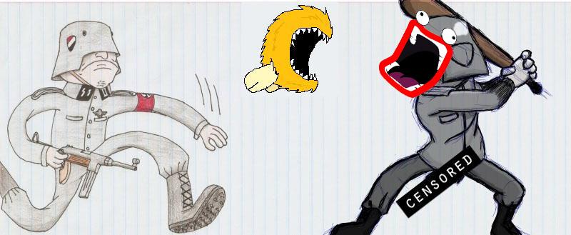 Random doodles of Awsome Die1111