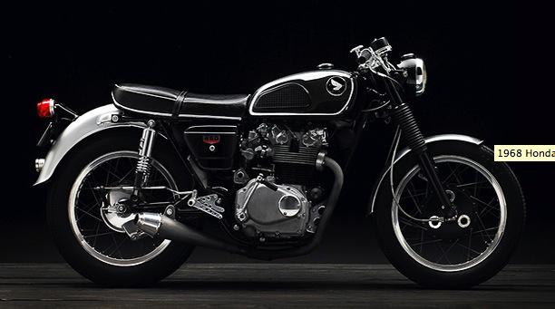 SUPERBE 1968 HONDA CB450 Pictu124