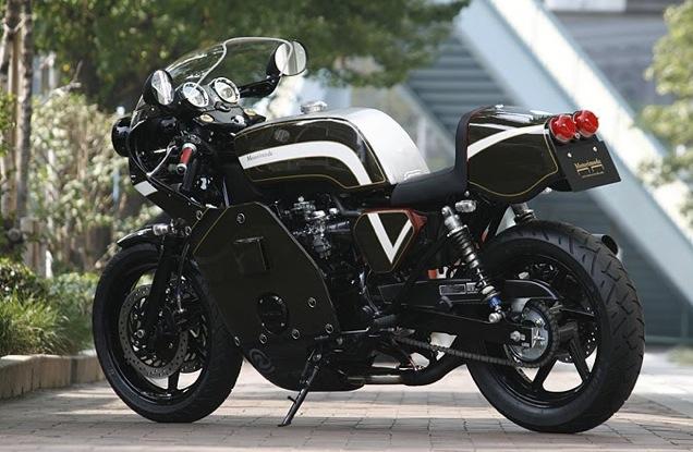 ATTENTION C'EST BEAU : Honda CB750 Café Type Motorimoda Pictur56