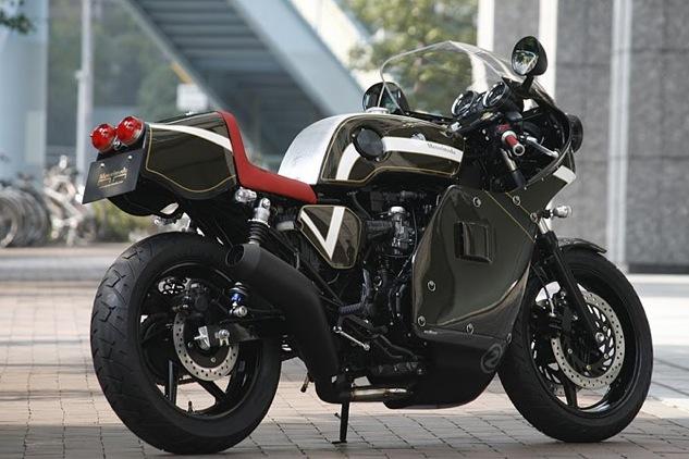 ATTENTION C'EST BEAU : Honda CB750 Café Type Motorimoda Pictur57