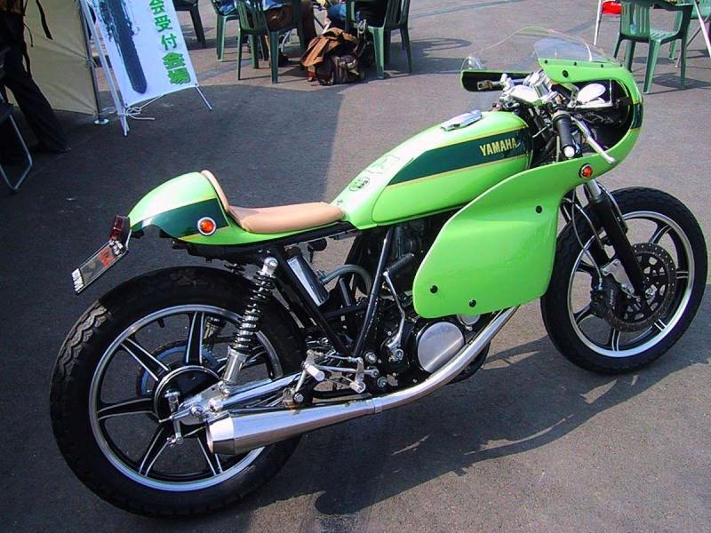 SR 500 DE COURSE VERT VETYVER Yamaha11