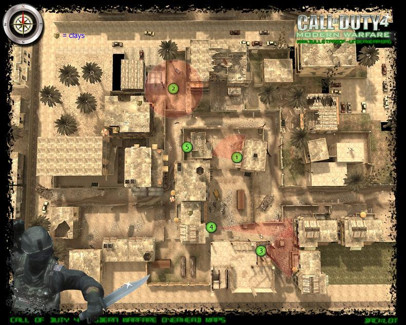 Map spots and tactics Backlo10