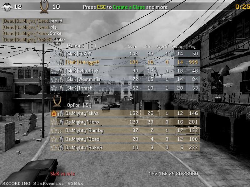[SlaK] vs old{VDX} 24/2 - 2010 Shot0125