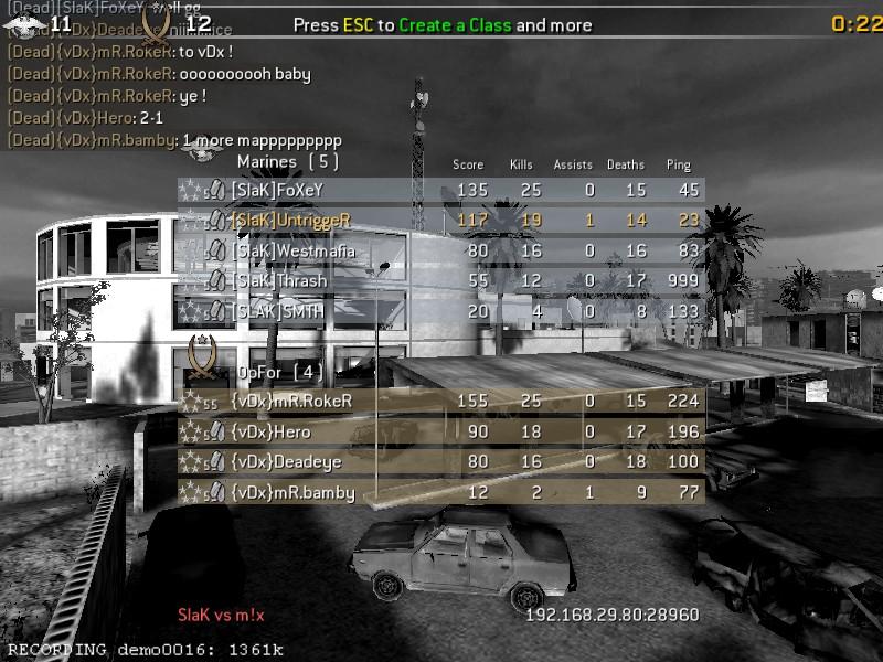 [SlaK] vs old{VDX} 24/2 - 2010 Shot0126