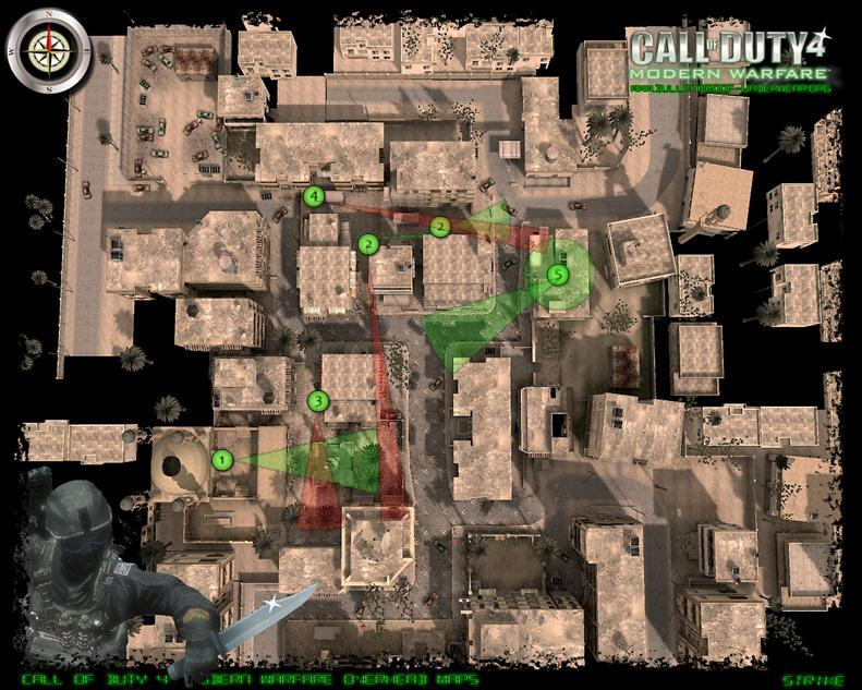 Map spots and tactics Strike12
