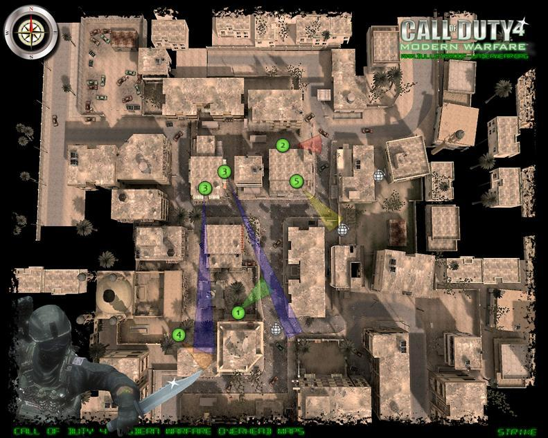 Map spots and tactics Strike13