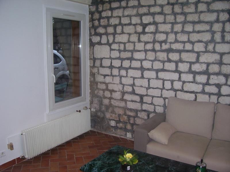 Mur en pierres calcaire et joins ciments gris !!! 100_3218