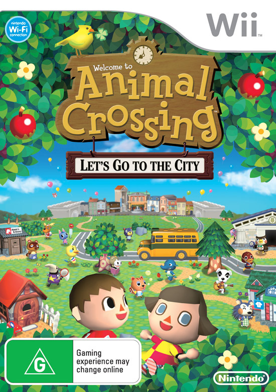 [Descarga] Animal Crossing: Let's go to the city [PAL] Boxart10