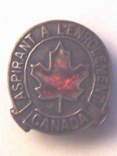 "WW1 ""CPF"" Class A and a Class B Badge Gsb29_10"
