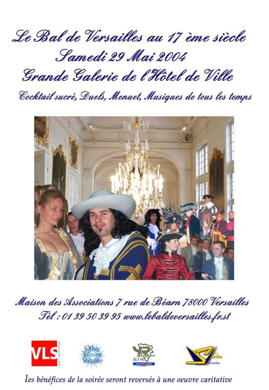 les affiches  du bal de  Versailles, depuis 2002 _a3_310