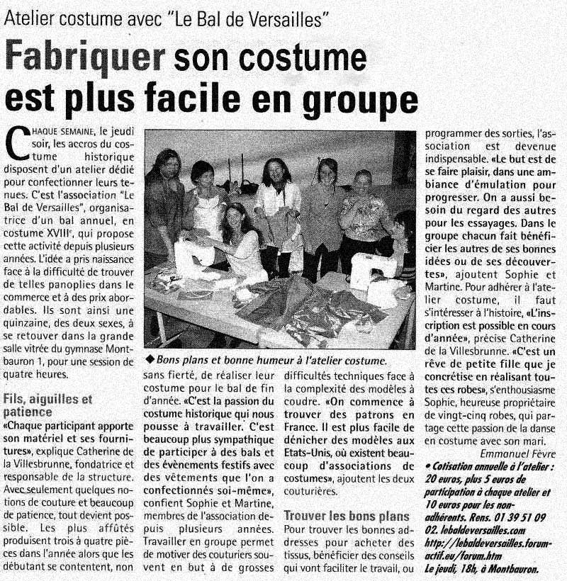 Presse du bal de Versailles - Page 3 Articl11