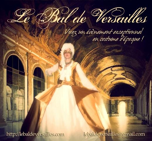 les affiches  du bal de  Versailles, depuis 2002 Bal20111