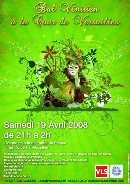 le bal de Versailles, l'histoire Format10