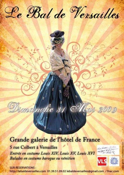 les affiches  du bal de  Versailles, depuis 2002 N1356210