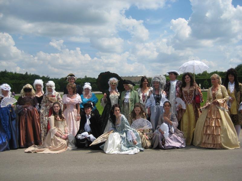 le bal de Versailles, l'histoire Parc_011