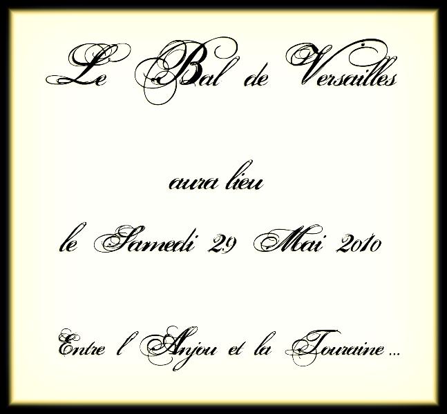 les affiches  du bal de  Versailles, depuis 2002 Verso211