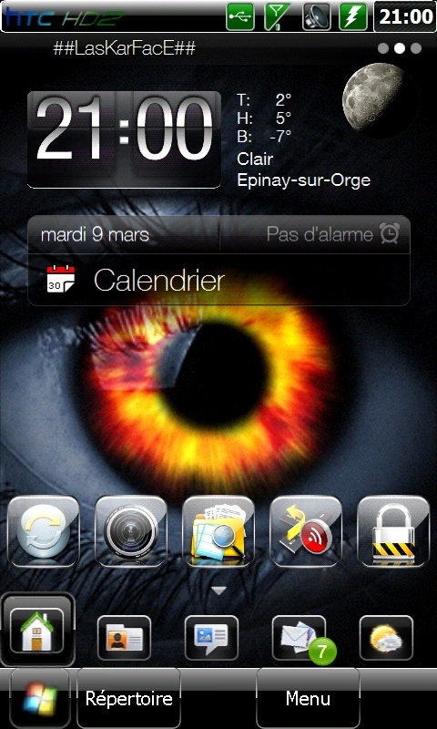 Et si on postait nos Today et nos wallpaper ici .... Screen12