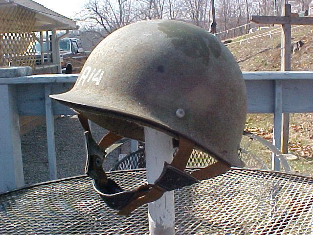 Experimental U.S. M-1 Helmet Mvc-0012