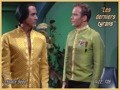 1-22 : Les Derniers Tyrans (Space Seed) 1x2210