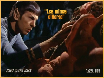 1-25 : Les Mines de Horta (Devil in the Dark) 1x2510