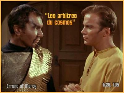 TOS 1-26 : Les Arbitres du cosmos (Errand of Mercy) 1x2610