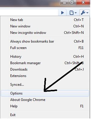 Изчистване на кеш паметта на браузъра Chrome11
