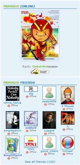 Friend List Problem Freind10