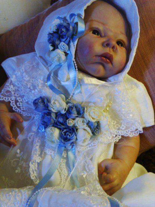 victorian style doll dress Azzurr10