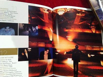 """Quelques photos du livret du coffret """"VISION"""" 210"""