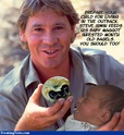 STEVE IRWIN  - The Crocodile Hunter ! Maggot10