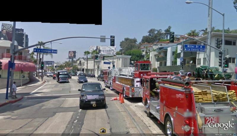 STREET VIEW : les camions de pompiers  Camion10