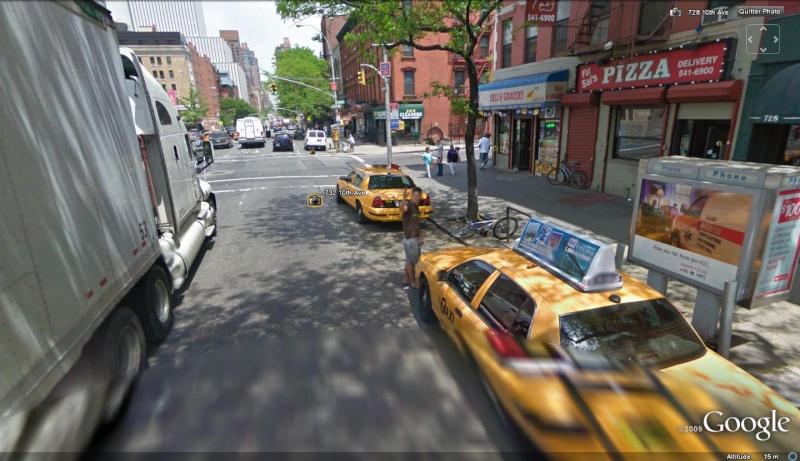 STREET VIEW : un coucou à la Google car  - Page 5 Coucou11