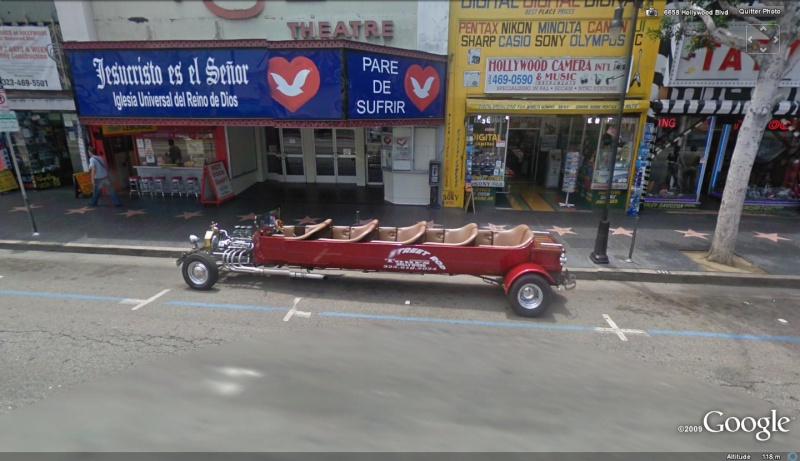 STREET VIEW : belles voitures (Monde) - Page 8 Hollyw10