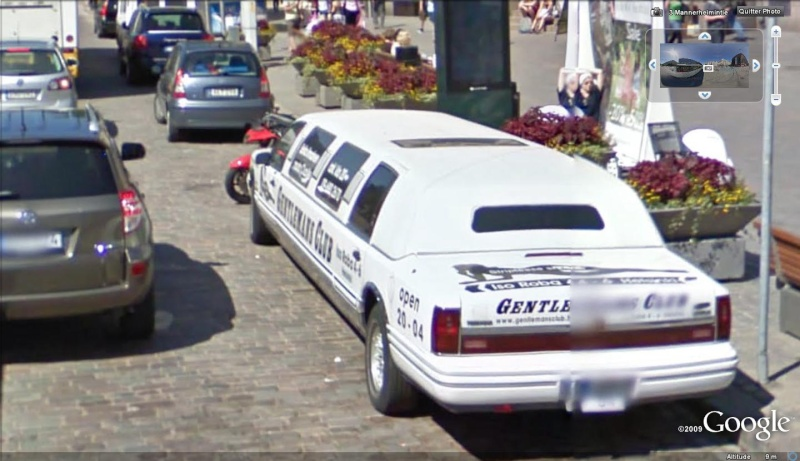 STREET VIEW : belles voitures (Monde) - Page 8 Limous15
