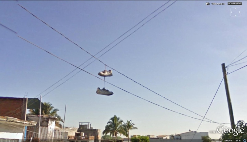 STREET VIEW : Chaussures fils electriques los Angeles USA Mes_ba10