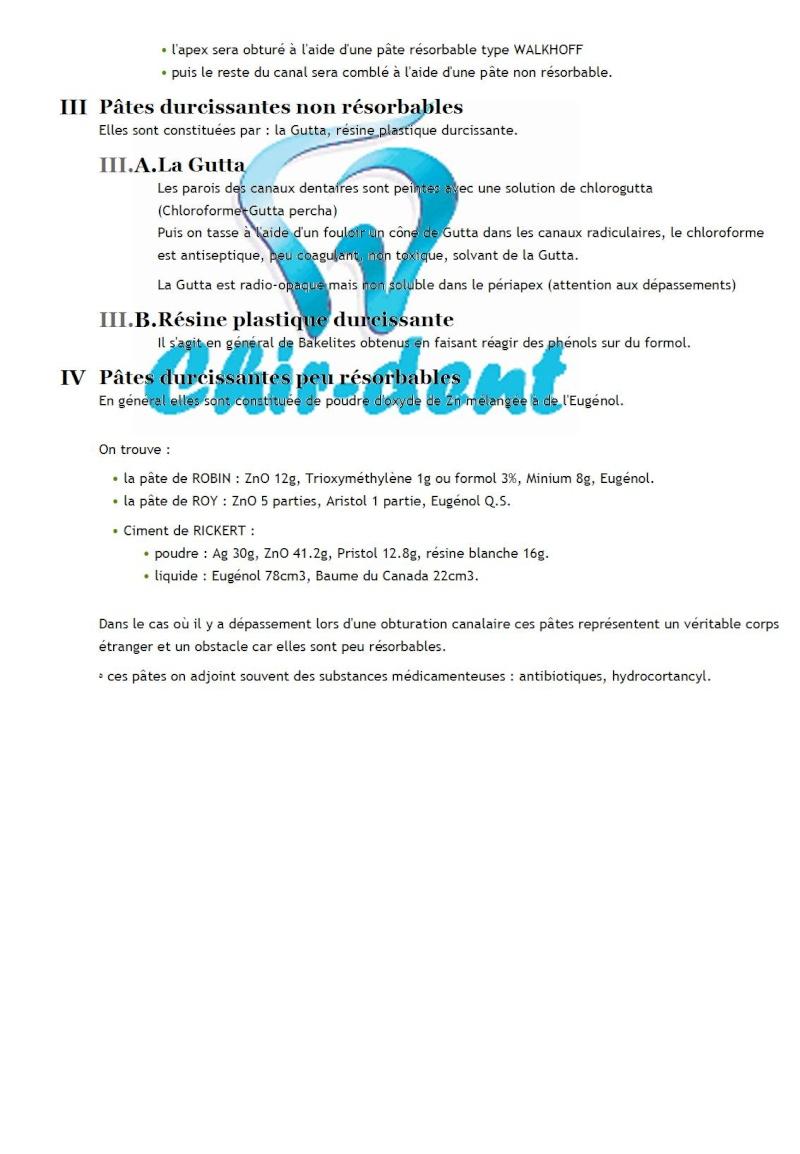 9 - Les matériaux d ' obturation canalaire Les_ma12